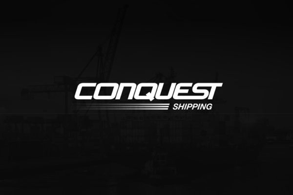 Conquest_Shipping_Logo_Design_Essex